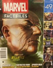 Marvel Fact Files #49 Eaglemoss Publications
